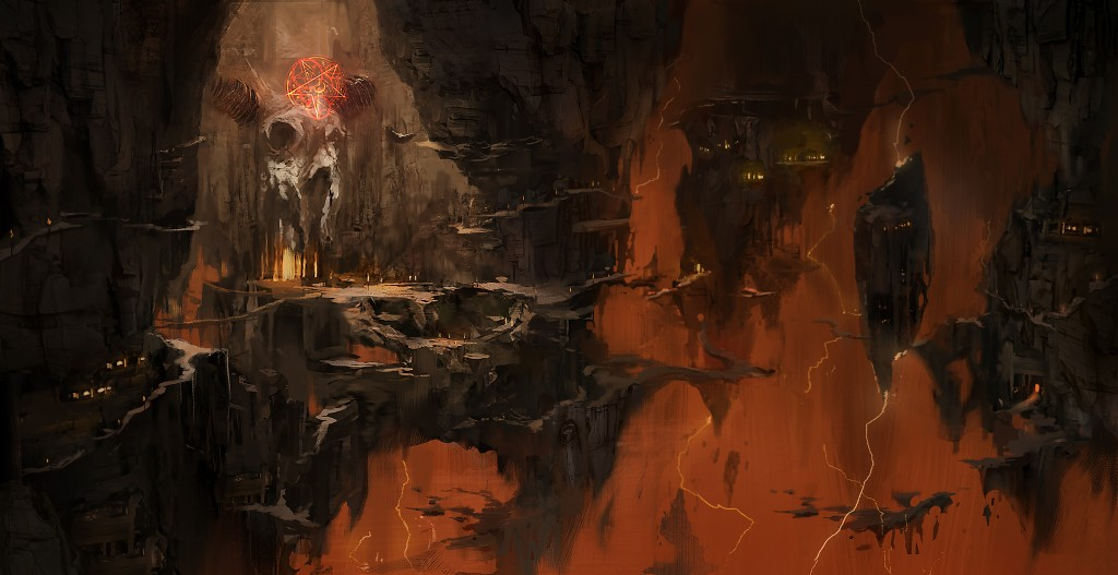 Podívejte se do pekla na artworcích Dooma 123407