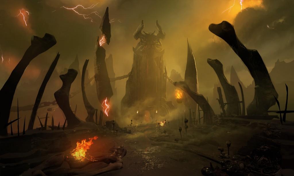 Podívejte se do pekla na artworcích Dooma 123409