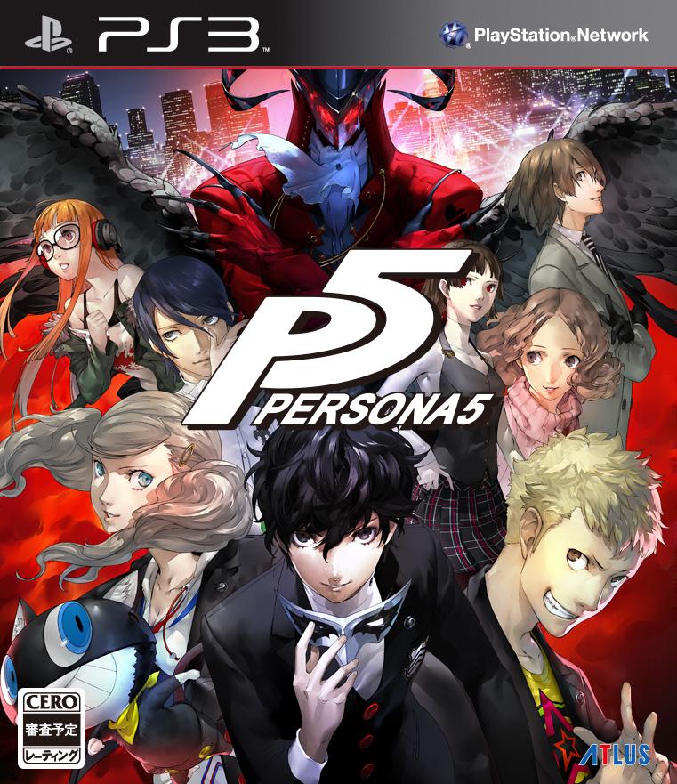 Persona 5 vychází v Japonsku 15. září! 123478
