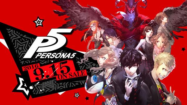 Persona 5 vychází v Japonsku 15. září! 123488