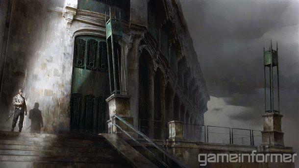 Nové koncepty z Dishonored 2 a detailnější popis jednotlivých schopností 123569