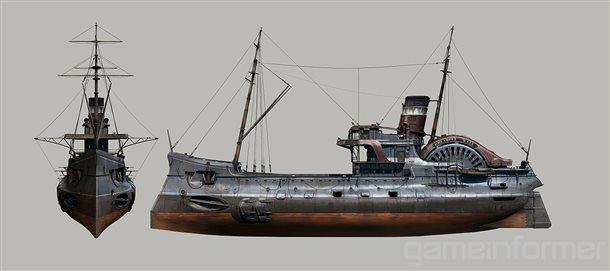 Nové koncepty z Dishonored 2 a detailnější popis jednotlivých schopností 123572