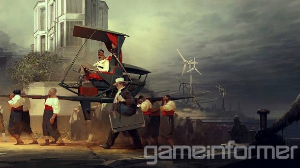 Nové koncepty z Dishonored 2 a detailnější popis jednotlivých schopností 123574