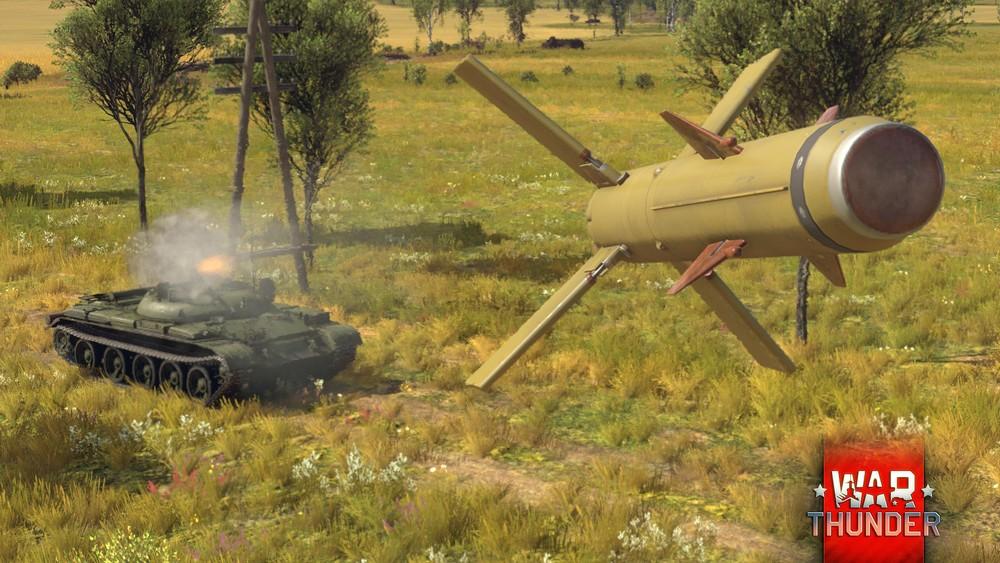 War Thunder se pochlubí precizním bombardováním řízenými střelami 123800