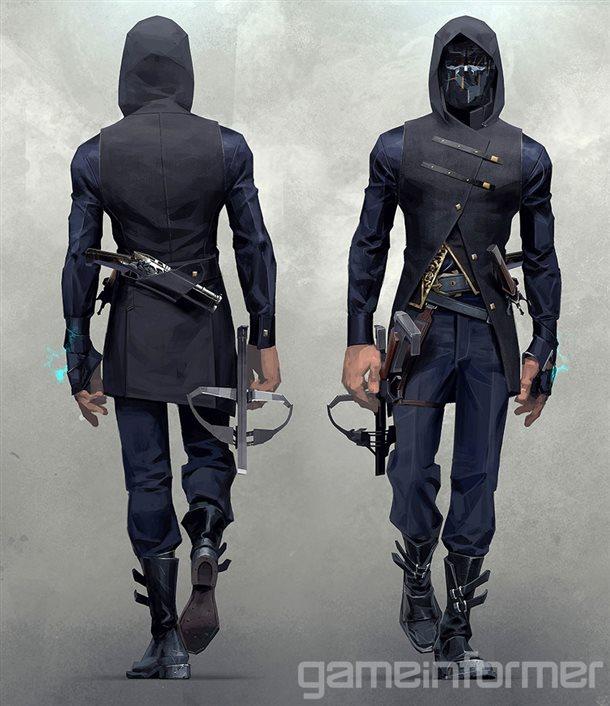 Nové koncepty z Dishonored 2 a detailnější popis jednotlivých schopností 123824