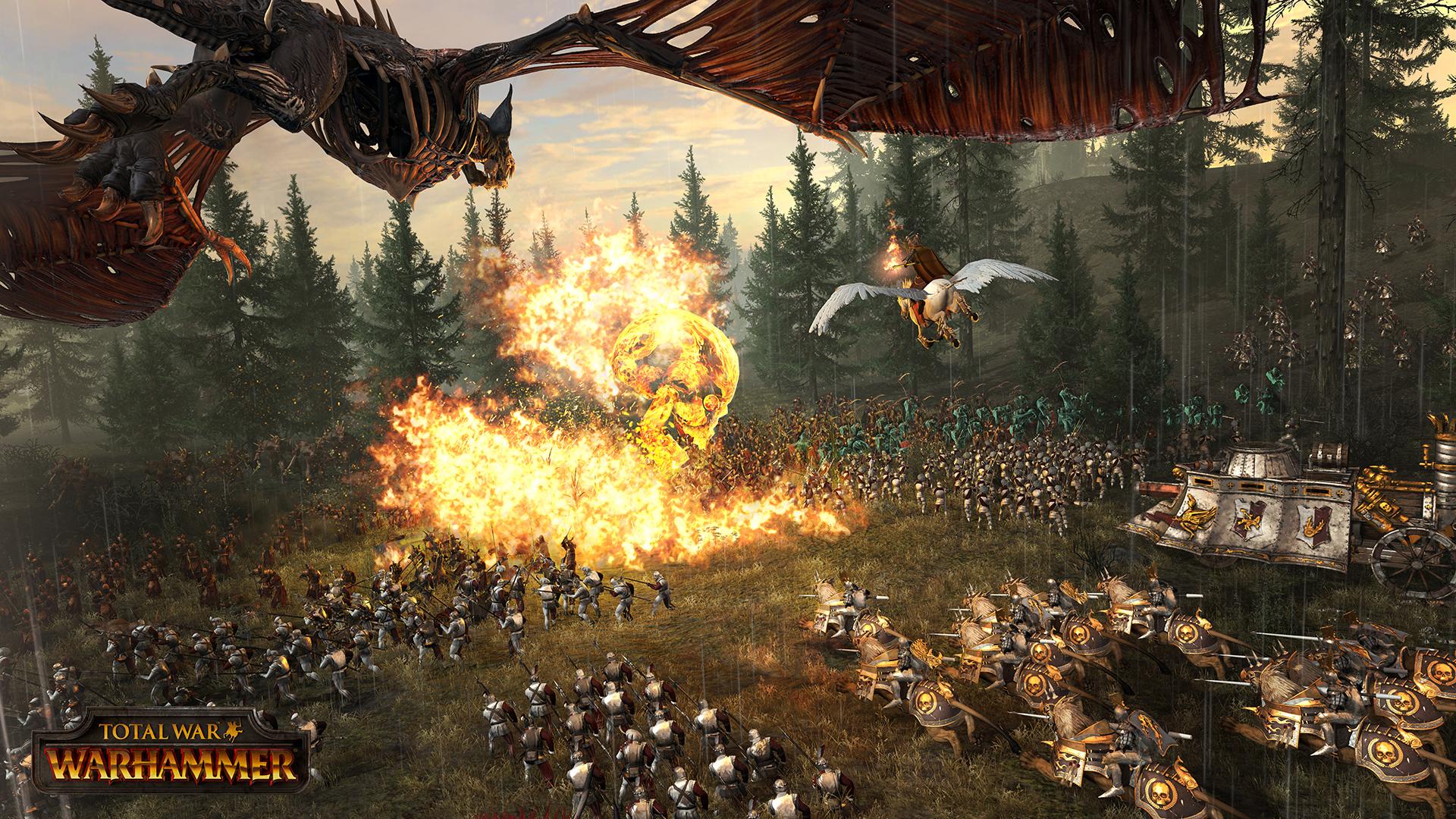 Magie ovlivní síly na bojišti Total War: Warhammer 123829