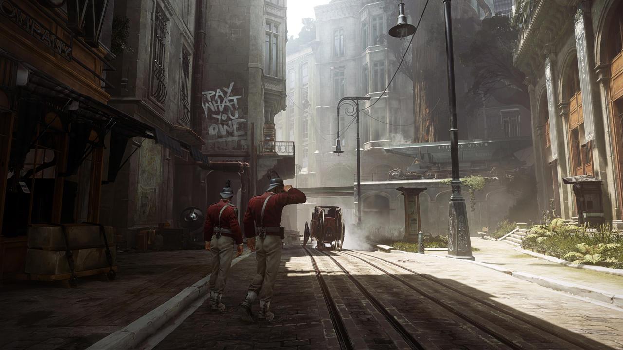 Řada nových screenshotů a artworků z Dishonored 2 123948