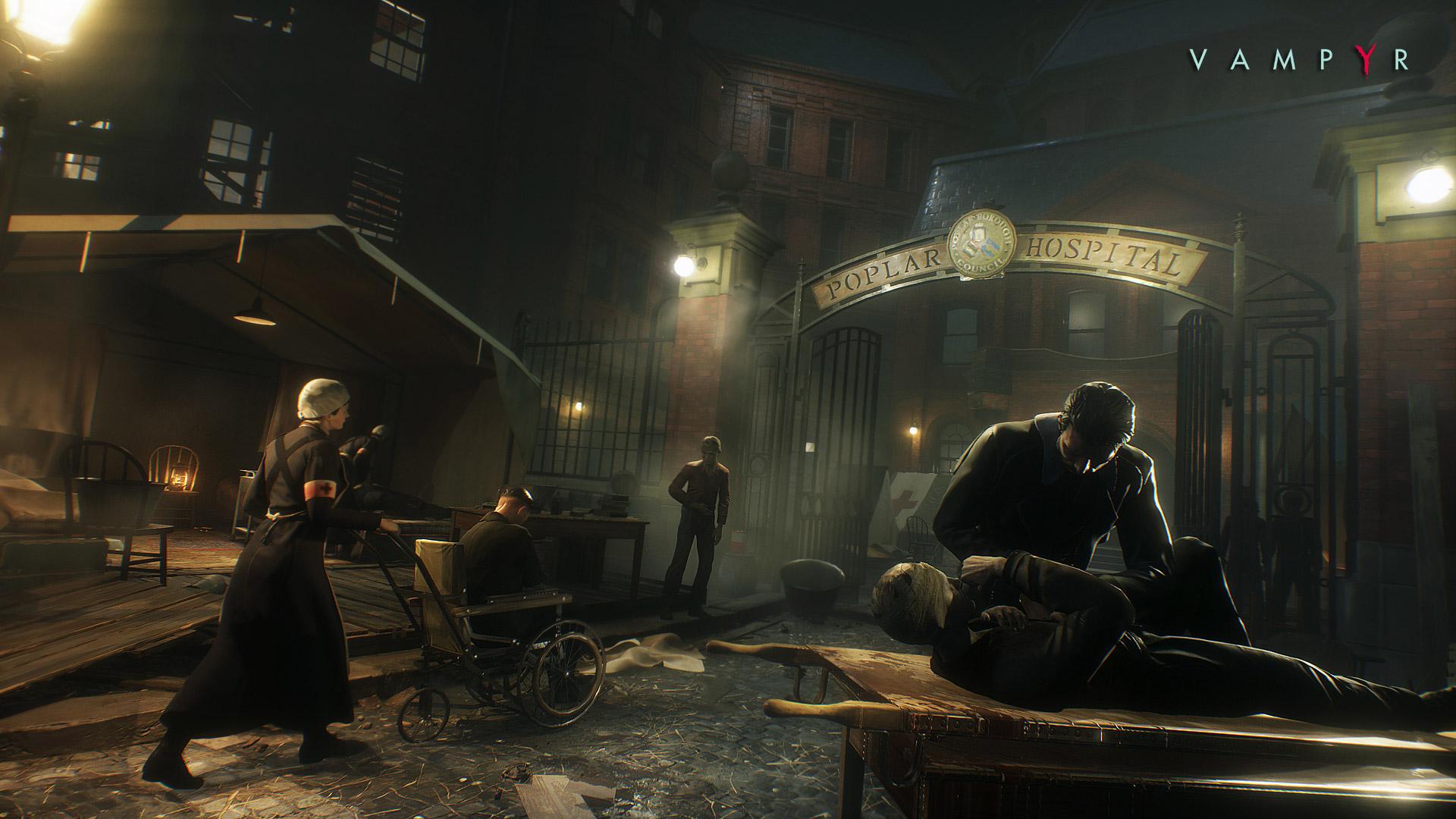 Dojmy z Gamescomu: Vampyr – vysát či nevysát, to je oč tu běží 124190