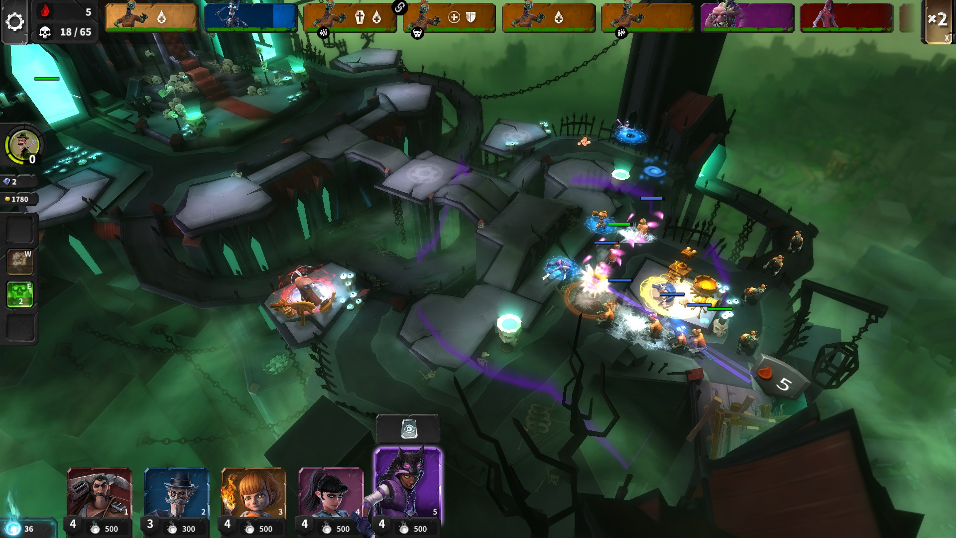Hero Defense: Haunted Island – ostrov plný hrůz 124787