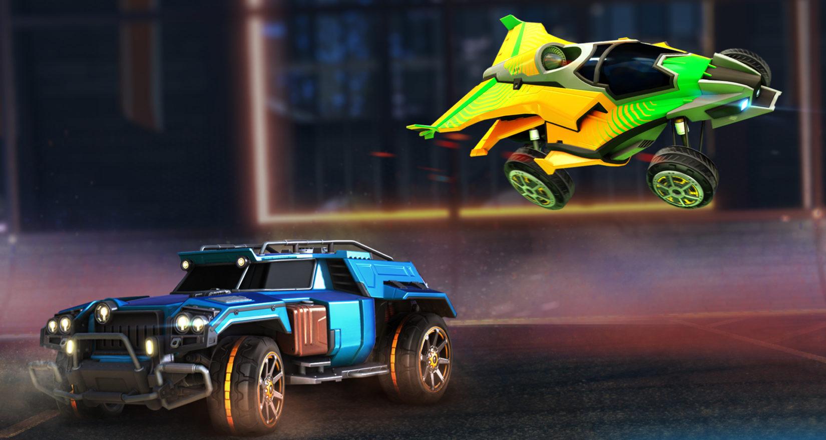 Do Rocket League se přiřítí další auta a novinky 124801