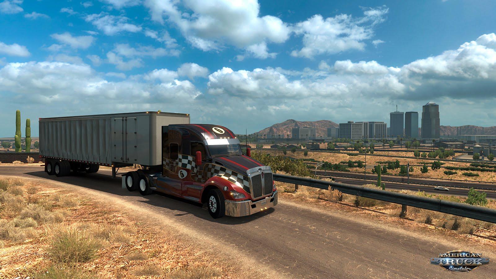 Arizona rozšířila mapu American Truck Simulatoru 124954