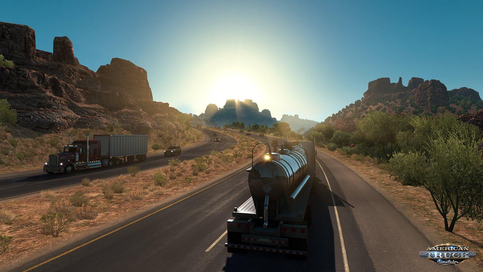 Arizona rozšířila mapu American Truck Simulatoru 124955