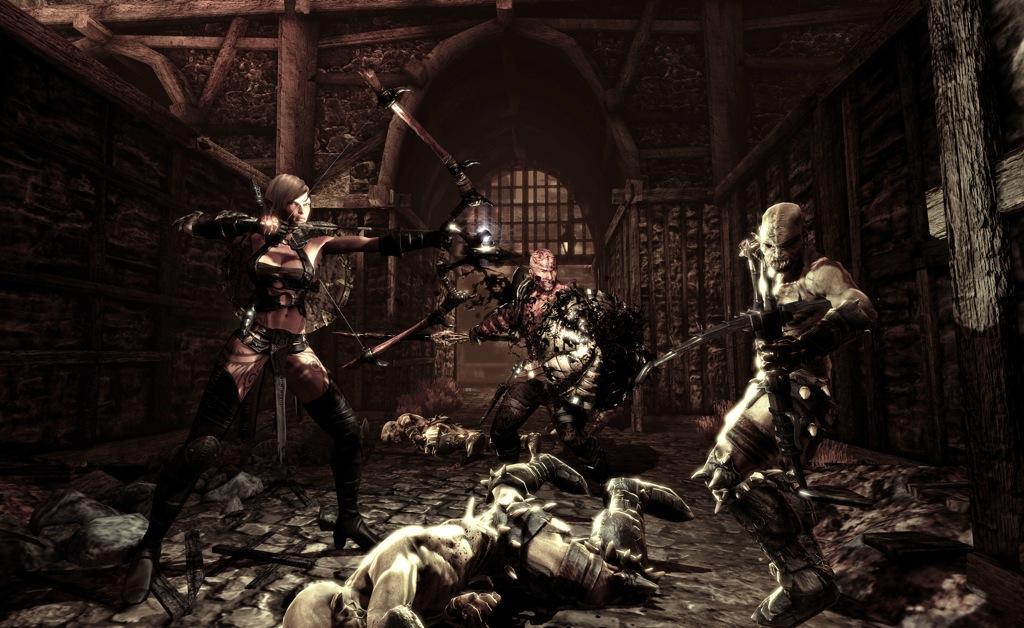 Hunted: The Demon's Forge pozdravuje z QuakeConu 12516