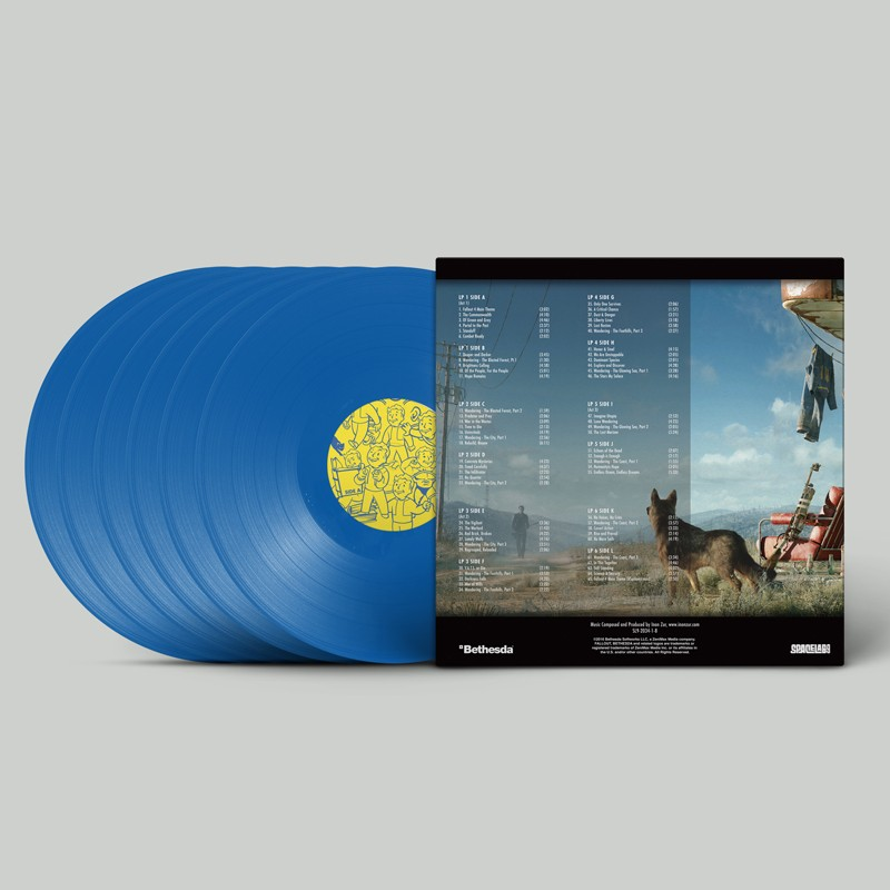 Chcete soundtrack Falloutu 4 na vinylové desce? Stačí vám jen 3 tisíce korun 125210