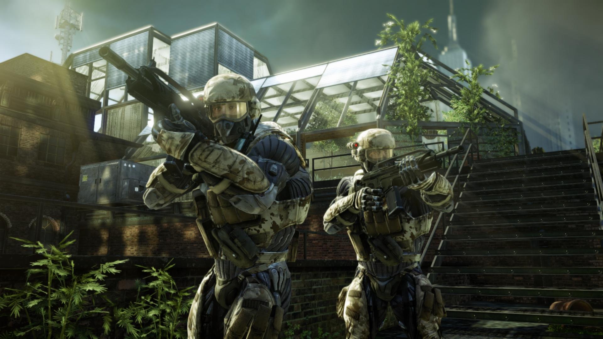 Crysis 2 láká na multiplayer a rozbořené město 12525