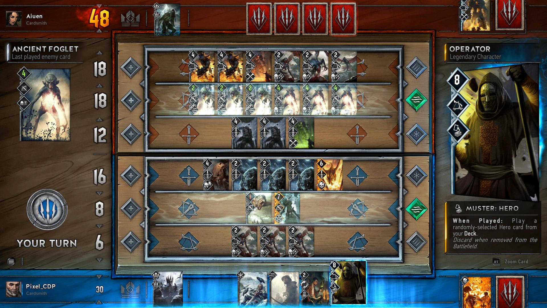 Gwent: The Witcher Card Game oficiálně oznámen 125628