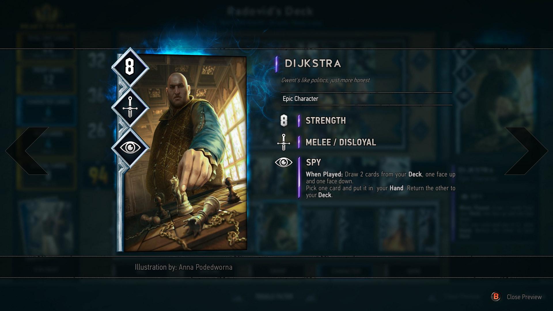 Gwent: The Witcher Card Game oficiálně oznámen 125629