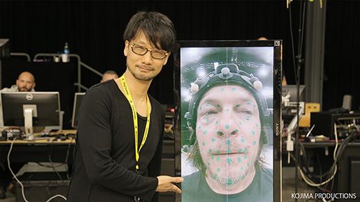 Podívejte se do zákulisí příprav hry Death Stranding od Hidea Kojimy 126047