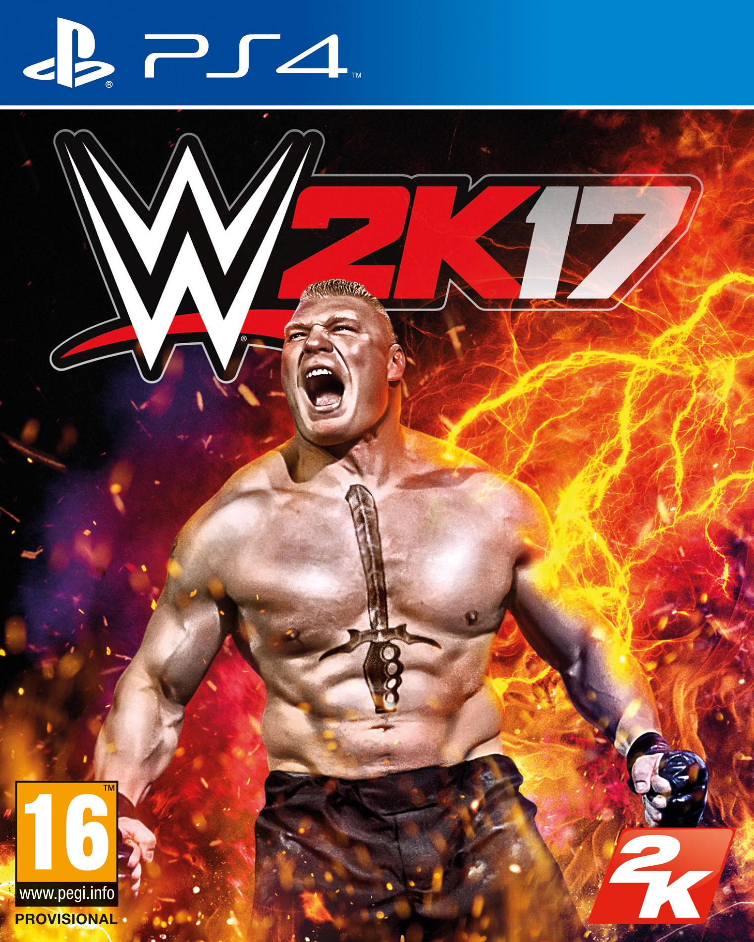 Na obalu WWE 2K17 bude Brock Lesnar 126573