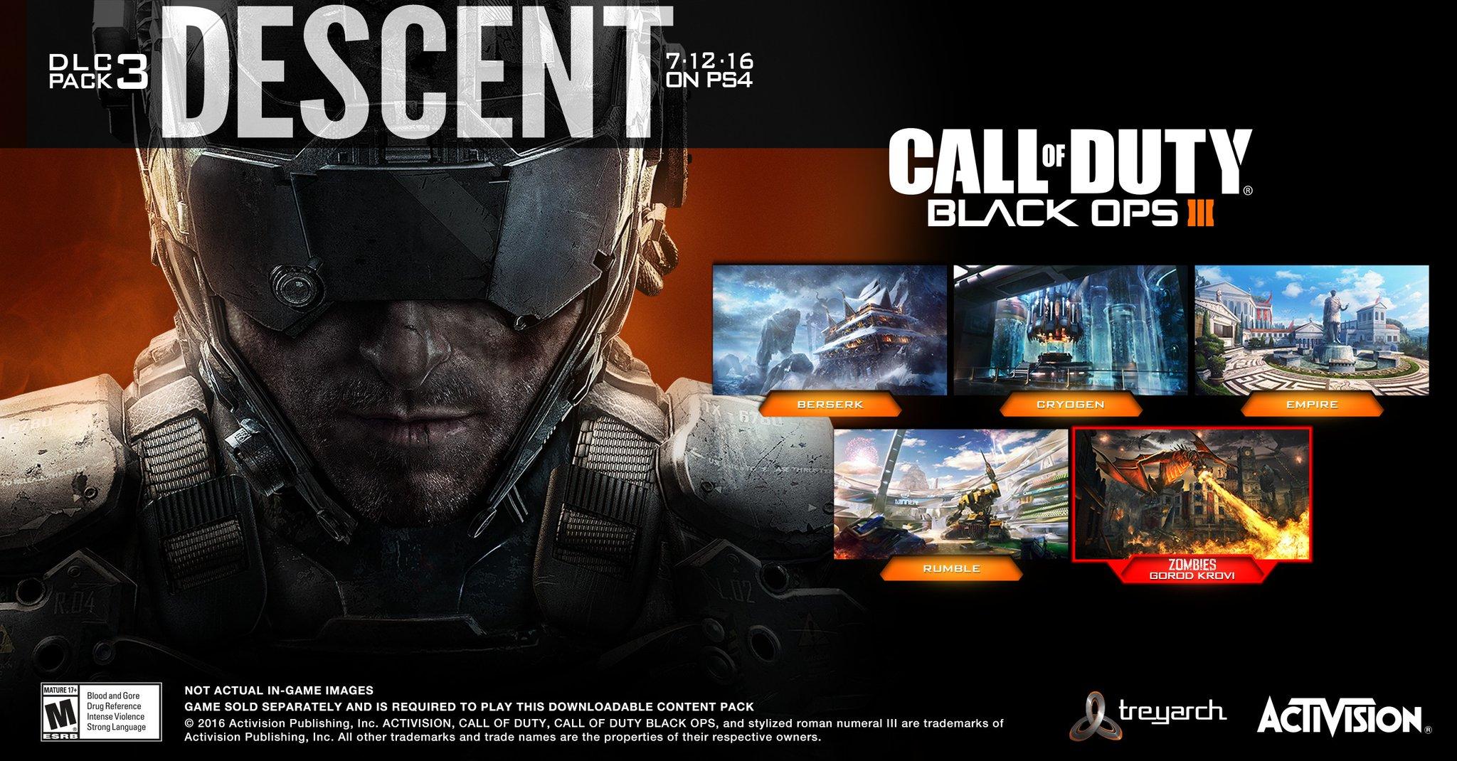 V Call of Duty: Black Ops 3 budou na nebi nad Stalingradem vládnout draci 126598