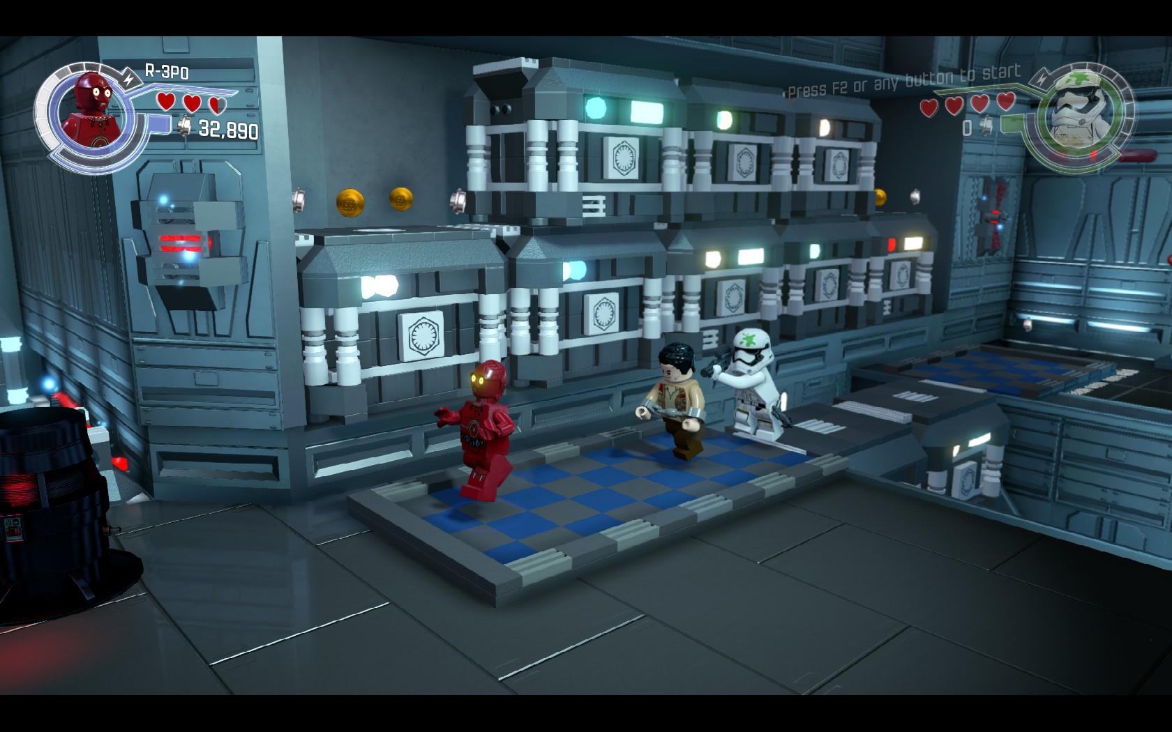 LEGO Star Wars: The Force Awakens - kostky se probouzí 126752