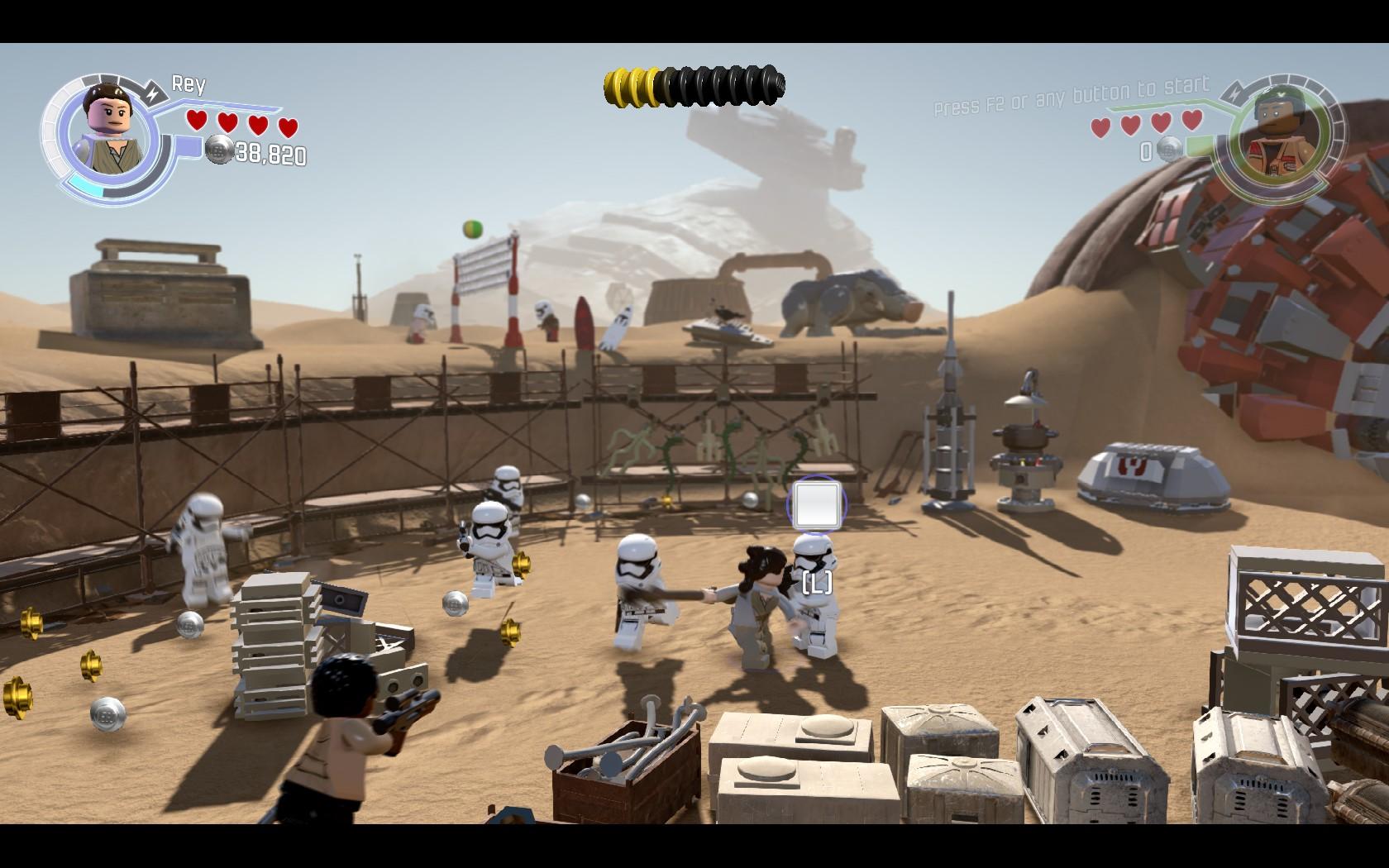 LEGO Star Wars: The Force Awakens - kostky se probouzí 126753