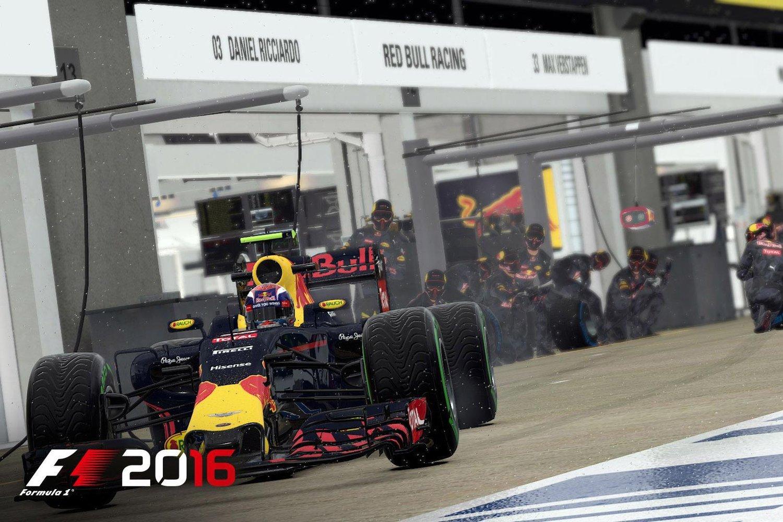 F1 2016 sází na kariéru 126831
