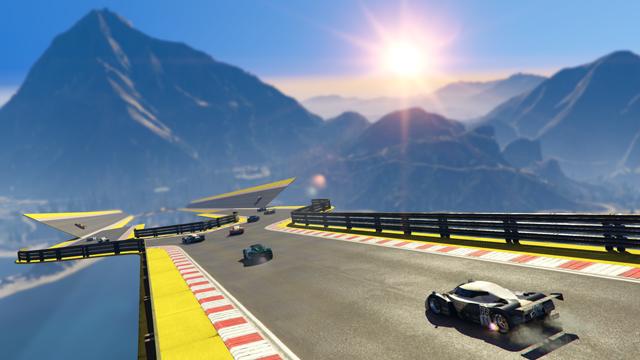 V GTA Online na vás čekají šílené závody ve stylu Trackmanie 126845