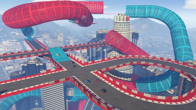 V GTA Online na vás čekají šílené závody ve stylu Trackmanie 126846