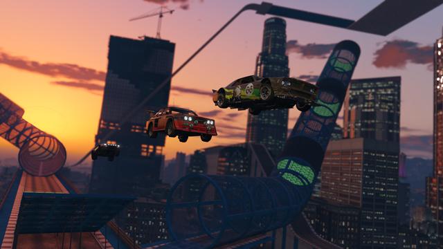 V GTA Online na vás čekají šílené závody ve stylu Trackmanie 126848