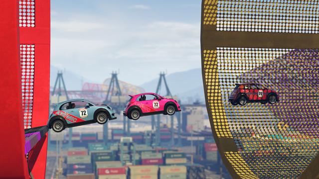 V GTA Online na vás čekají šílené závody ve stylu Trackmanie 126849