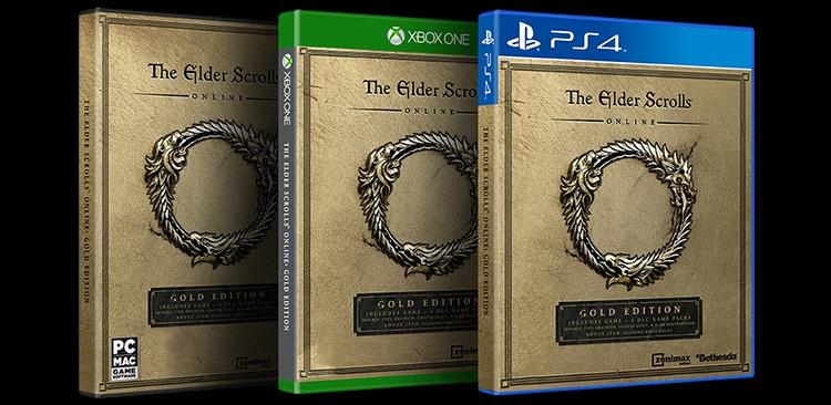 Oznámena Gold edice Elder Scrolls Online 126867