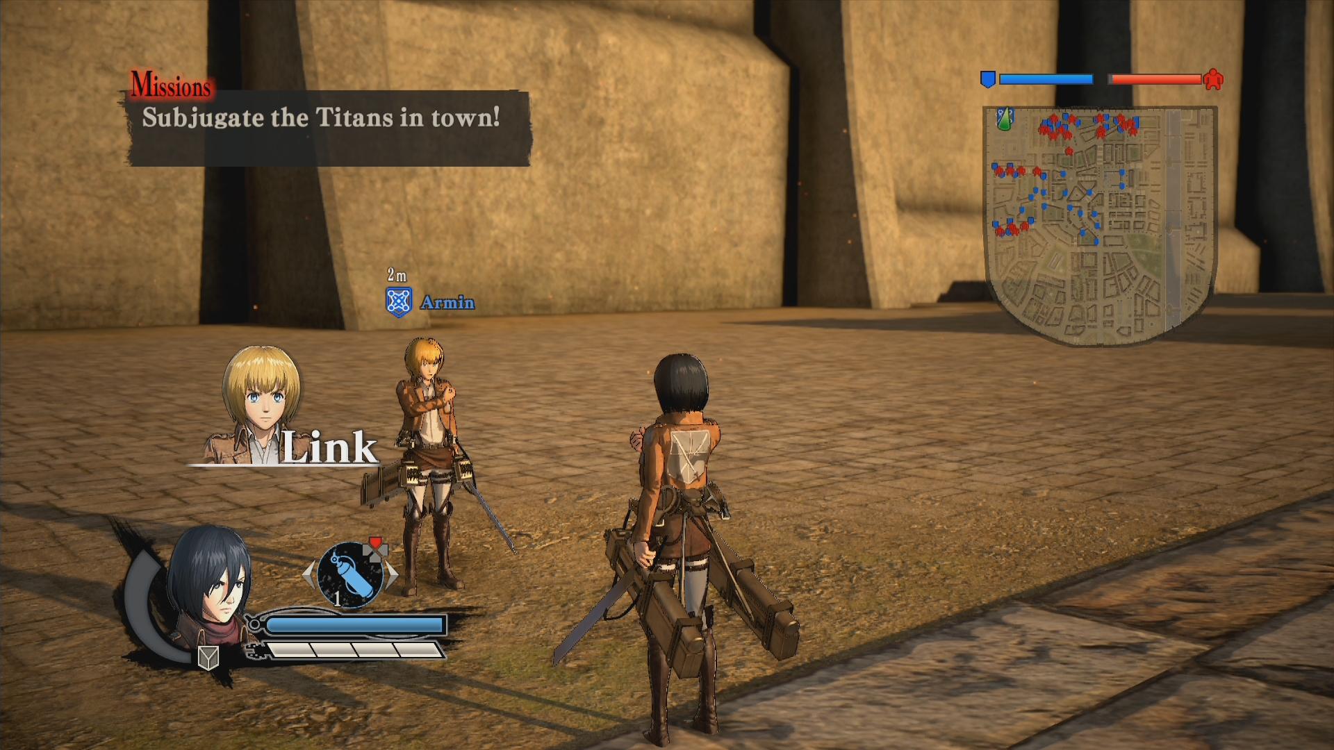 Novinky o bojích v Attack on Titan 126896