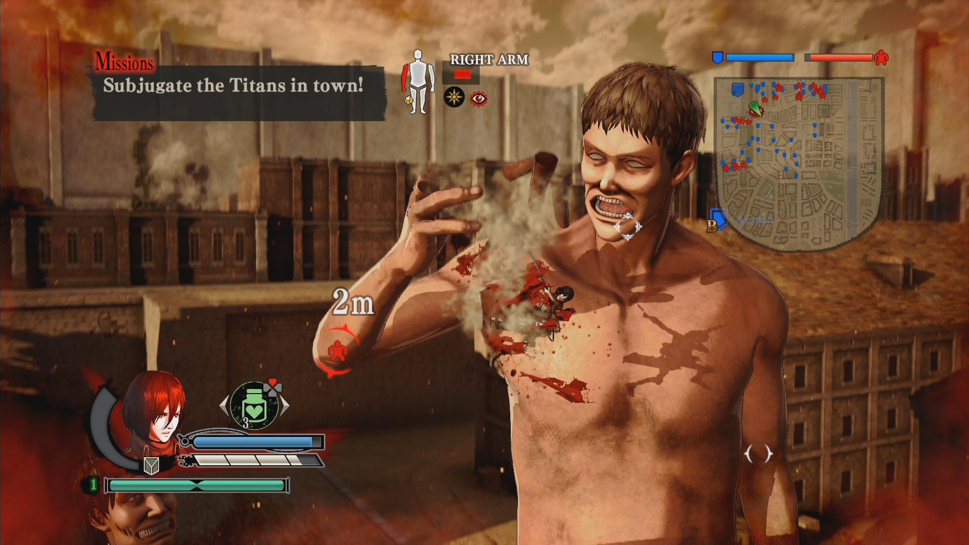 Novinky o bojích v Attack on Titan 126897