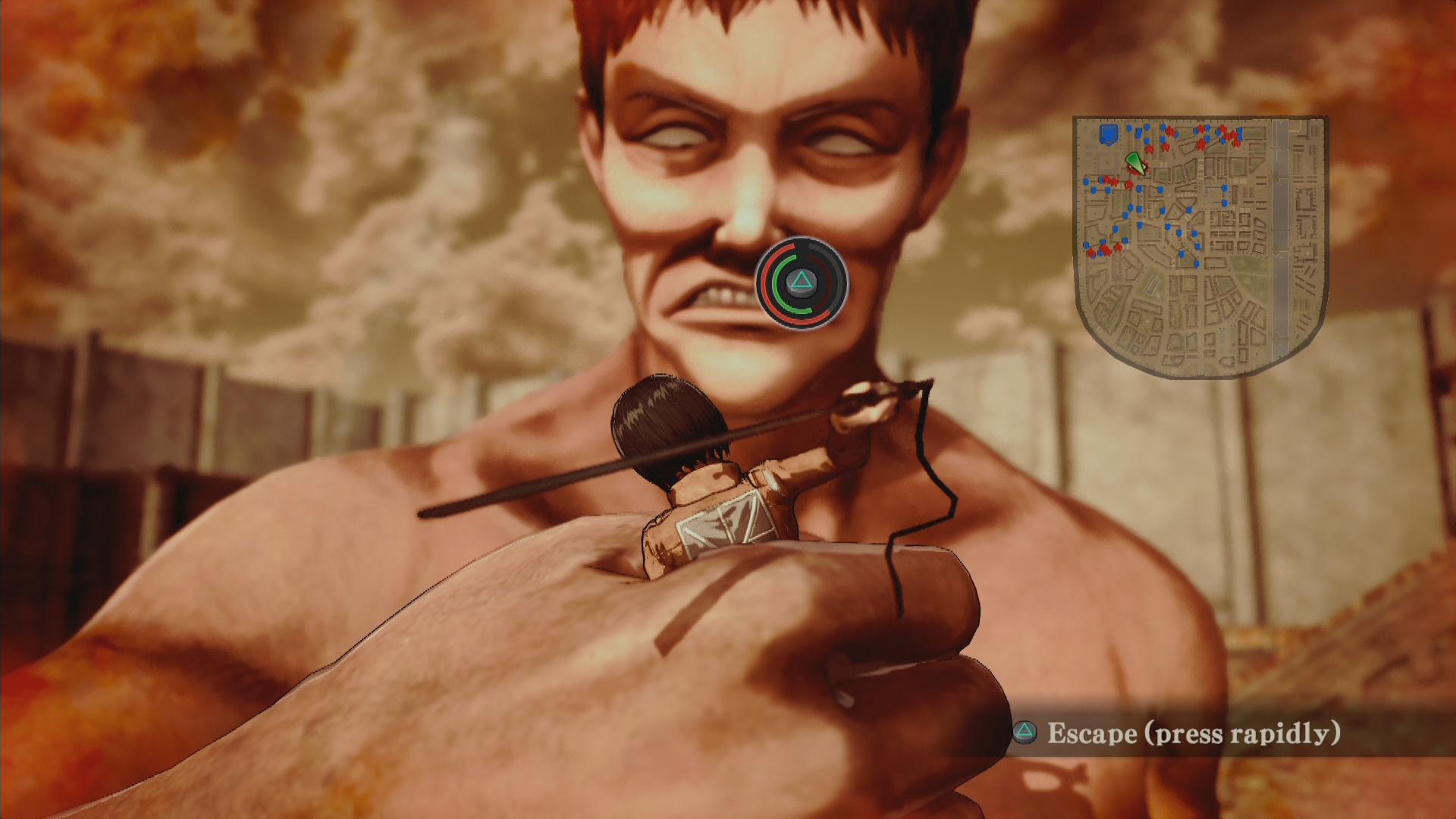 Novinky o bojích v Attack on Titan 126898
