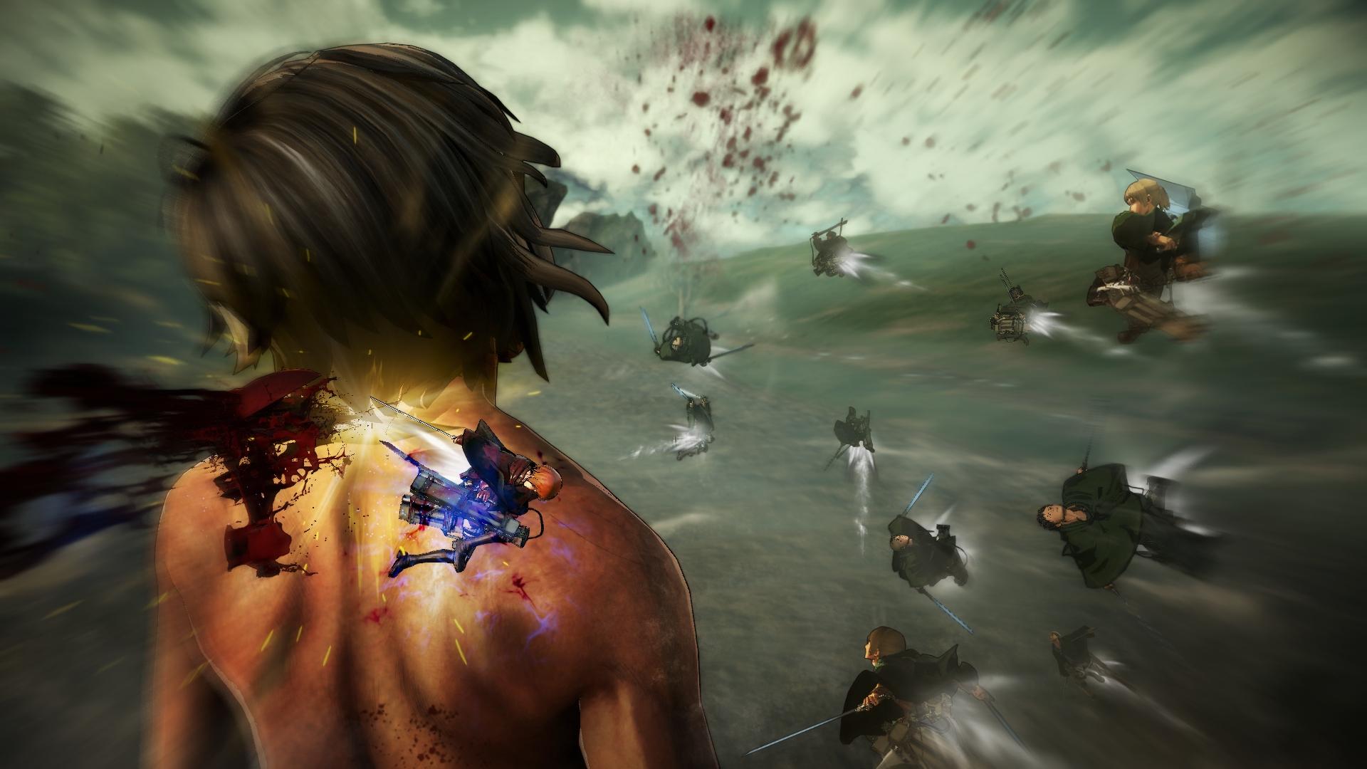 Novinky o bojích v Attack on Titan 126899