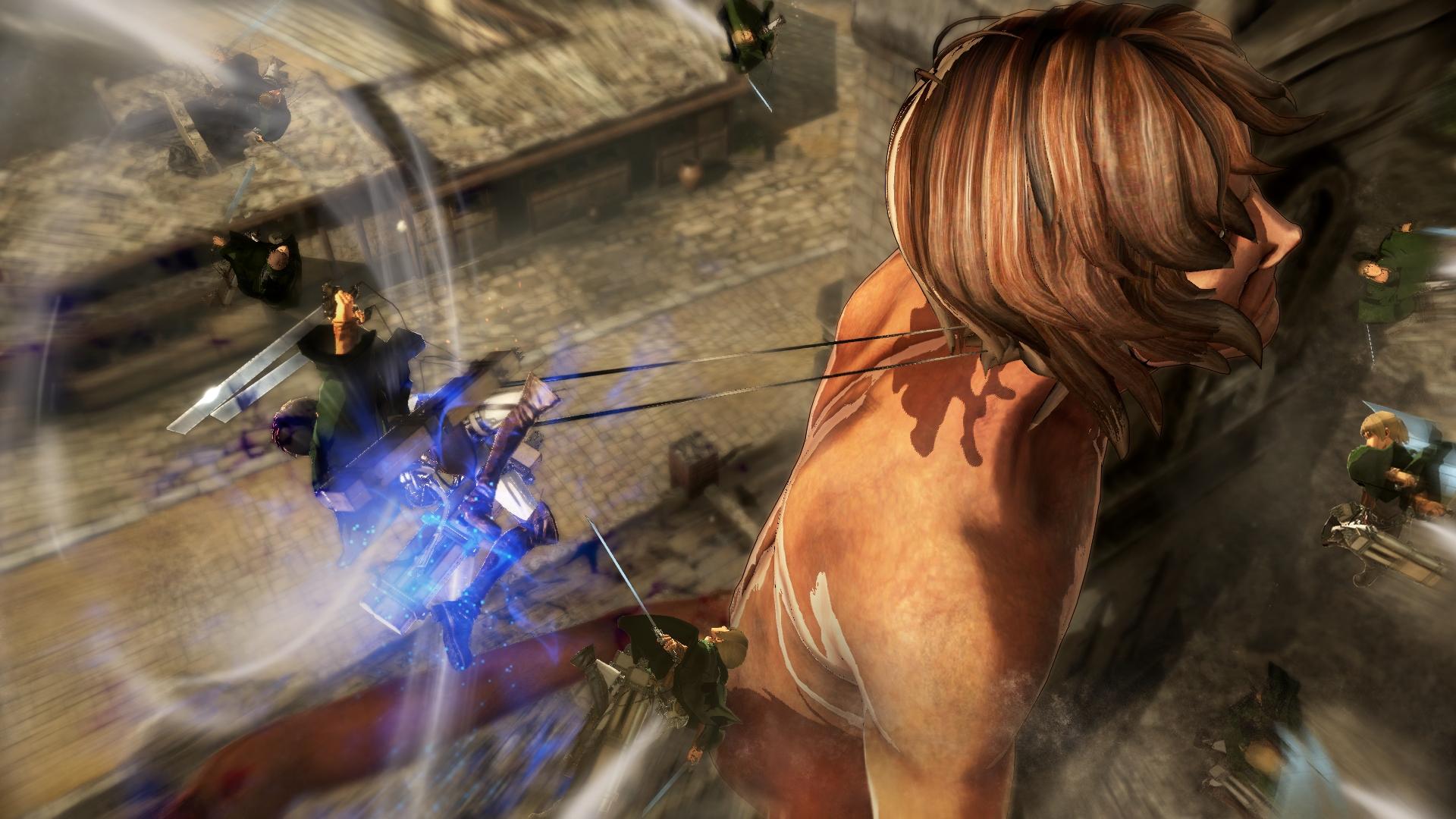 Novinky o bojích v Attack on Titan 126900