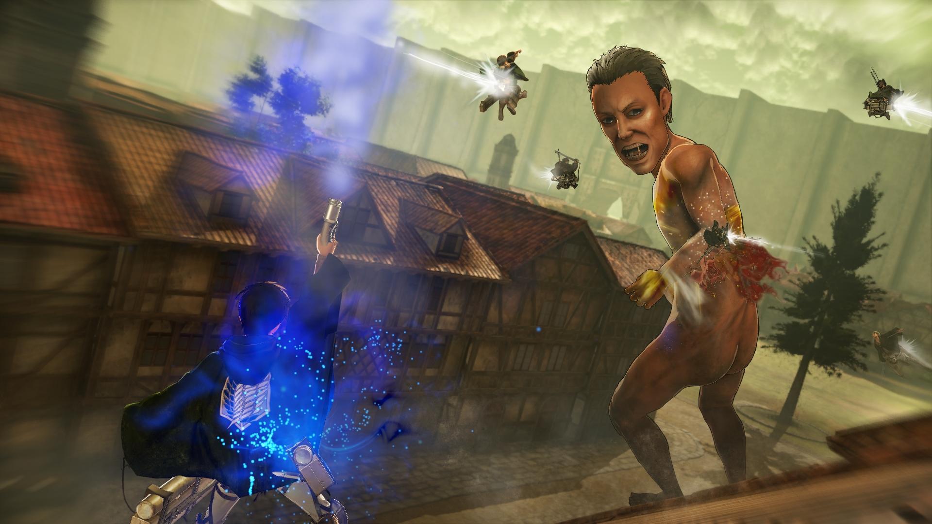 Novinky o bojích v Attack on Titan 126901