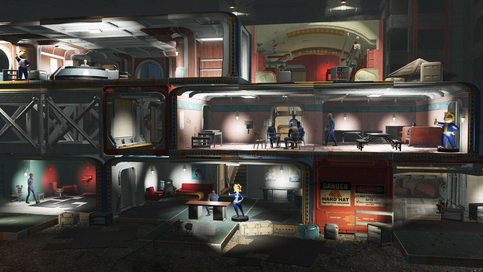 Svůj vlastní Vault ve Falloutu 4 si budete moci postavit 26. července 126980