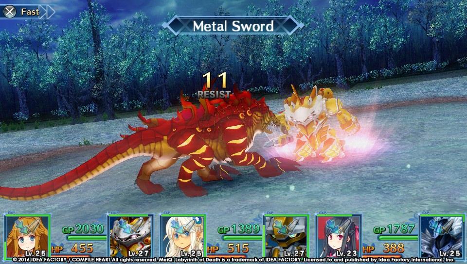 RPG MeiQ: Labyrinth of Death vychází v polovině září 126984