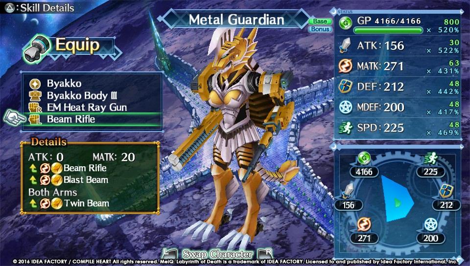 RPG MeiQ: Labyrinth of Death vychází v polovině září 126988
