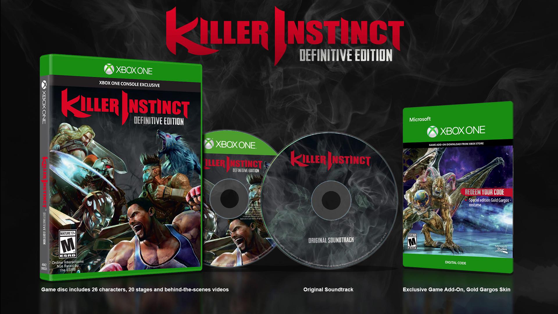 Oznámena definitivní edice Killer Instinct 127009