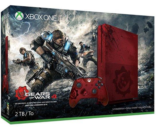 Limitovaná edice Xboxu One S pro fanoušky Gears of War 4 127010