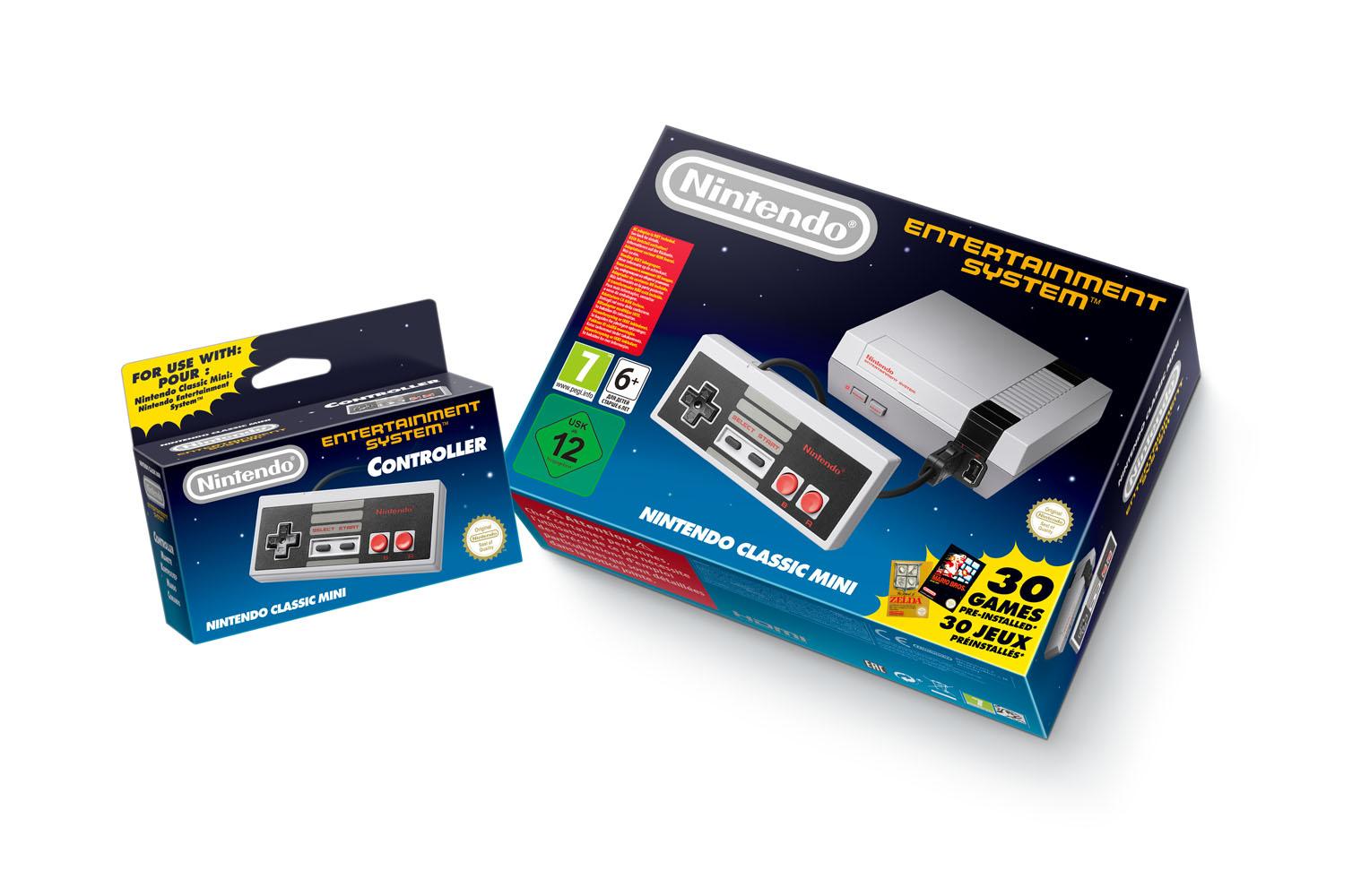 NES se vrací do prodeje společně s 30 hrami 127051
