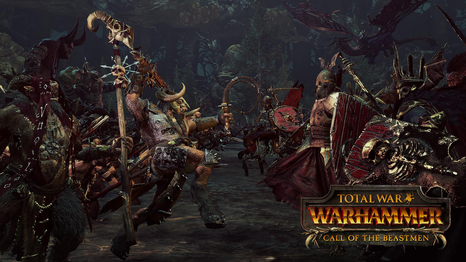 Třetí DLC do Total War: Warhammer bude zaměřeno na Beastmeny 127057