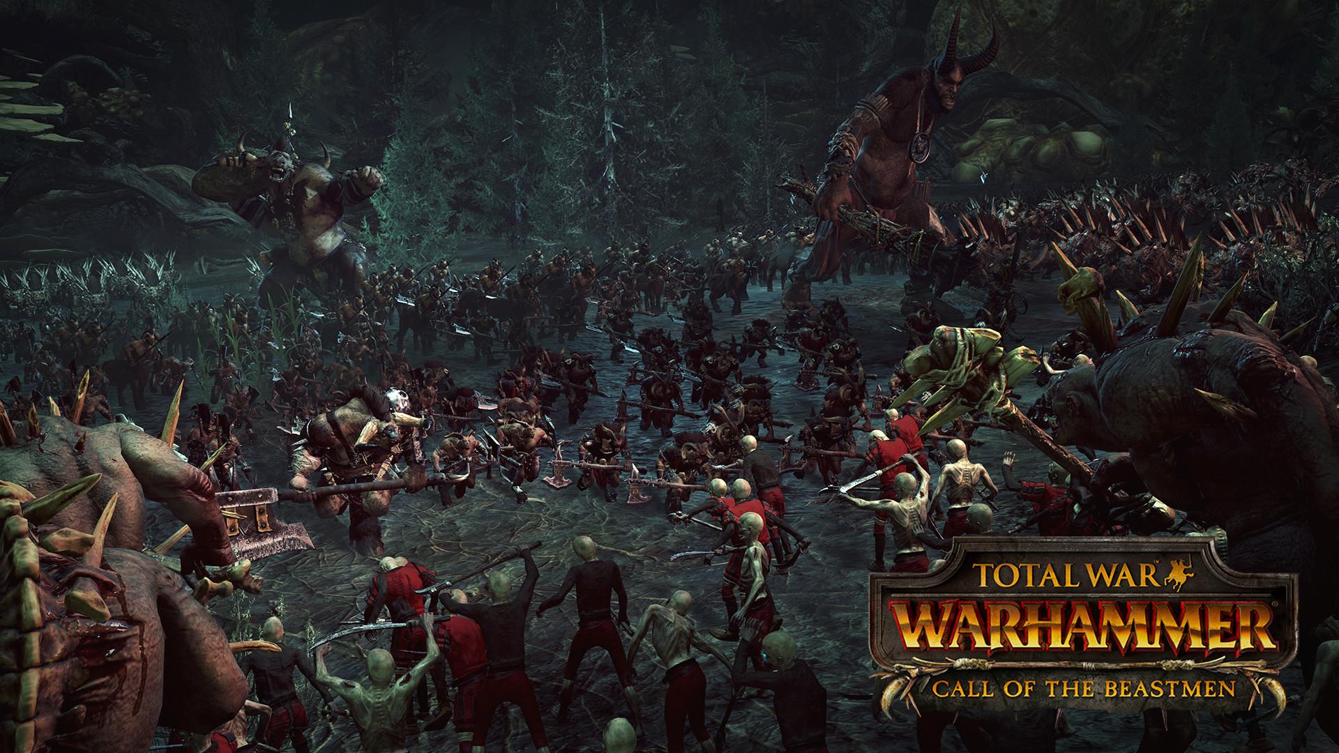 Třetí DLC do Total War: Warhammer bude zaměřeno na Beastmeny 127058