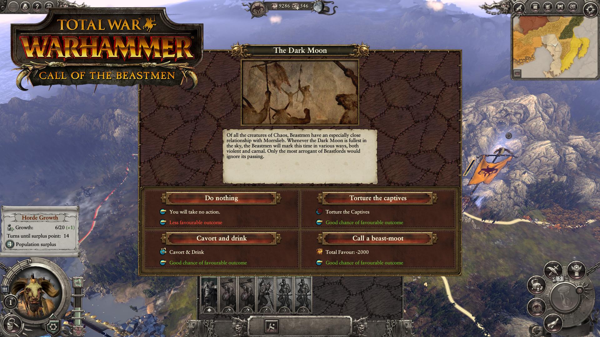 Třetí DLC do Total War: Warhammer bude zaměřeno na Beastmeny 127062