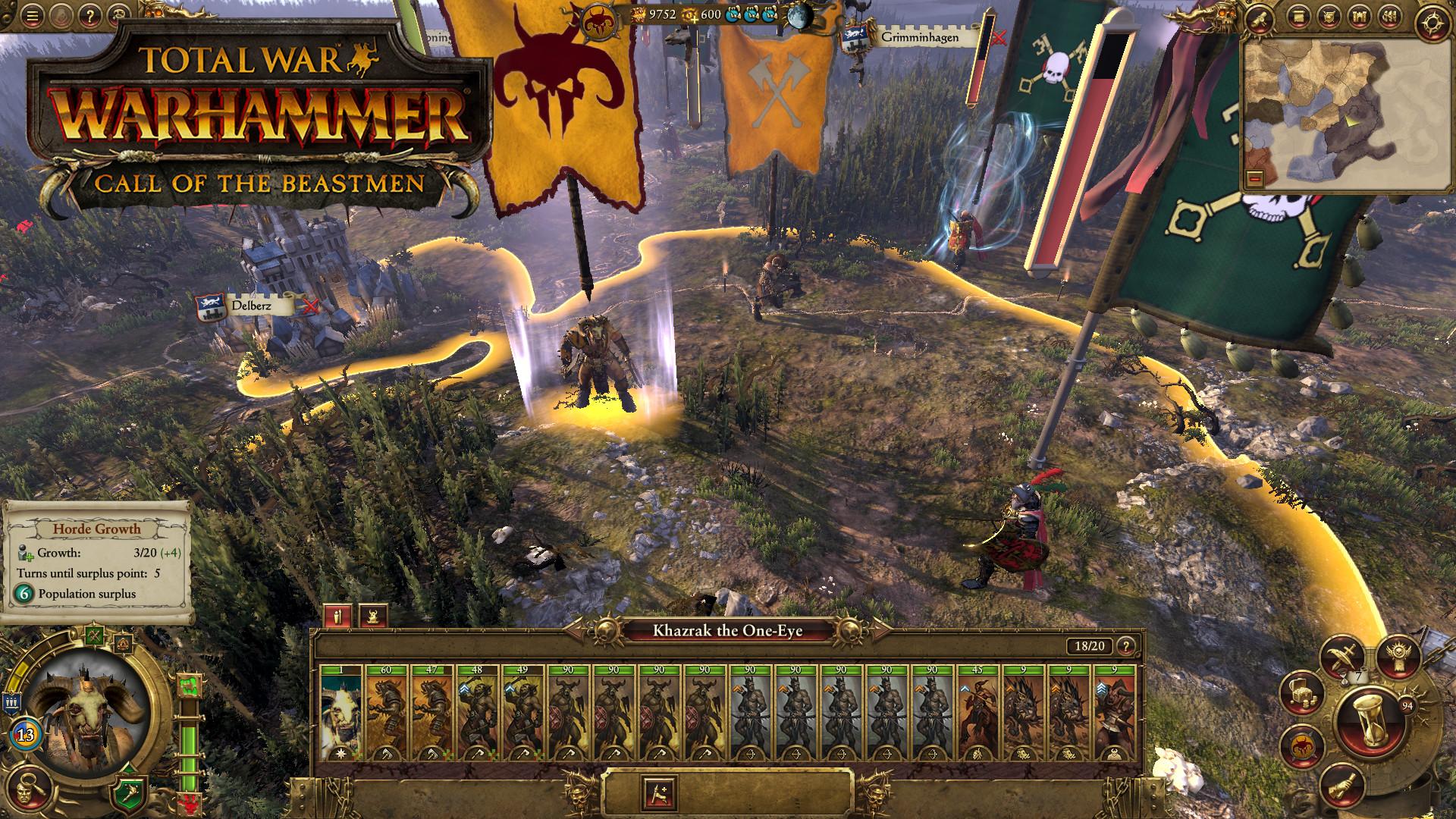 Třetí DLC do Total War: Warhammer bude zaměřeno na Beastmeny 127063