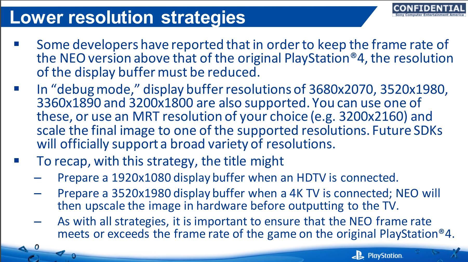 Dokument odhalil specifika vylepšené konzole PS4 127130