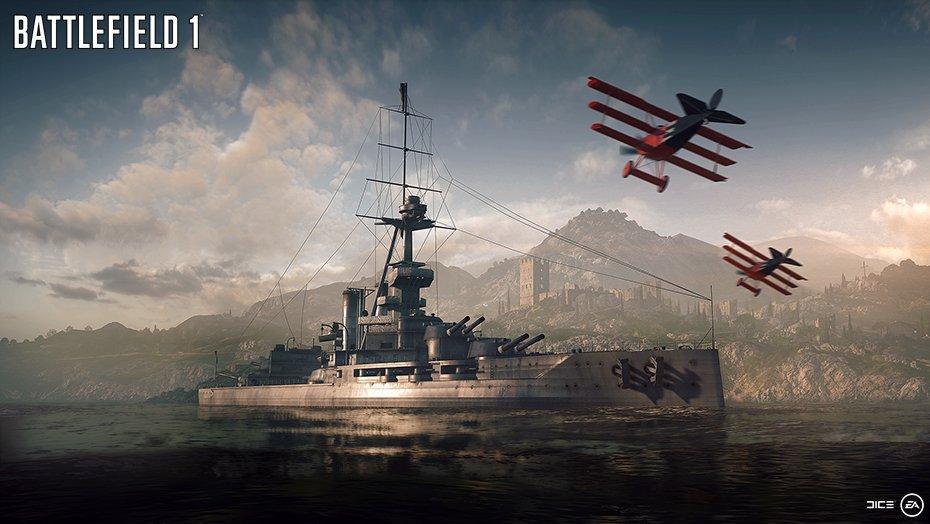 Trojice nových screenshotů z Battlefieldu 1 127163